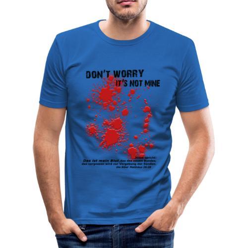 don´t worry - Männer Slim Fit T-Shirt