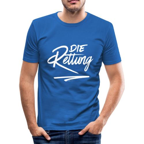 Die Rettung - Männer Slim Fit T-Shirt