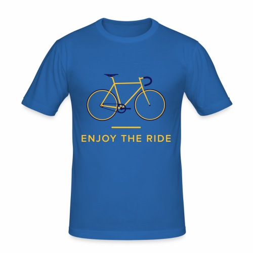 Enjoy The Ride Retro Cycling T-Shirt - Men's Slim Fit T-Shirt
