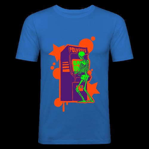 Hi-Score: Crazy Neon - Obcisła koszulka męska