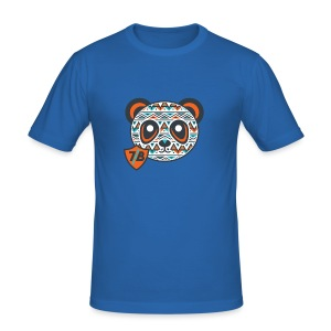 The Young Orange Panda - Men's Slim Fit T-Shirt