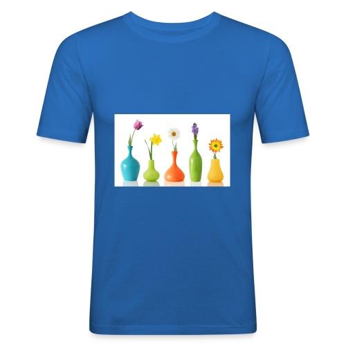 bloempotje - slim fit T-shirt