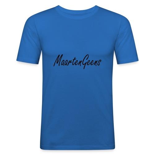 MaartenGeens Zwart - slim fit T-shirt