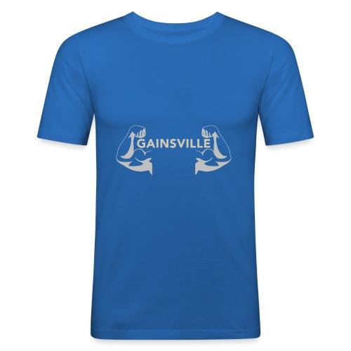 Gainsville Arms - Men's Slim Fit T-Shirt