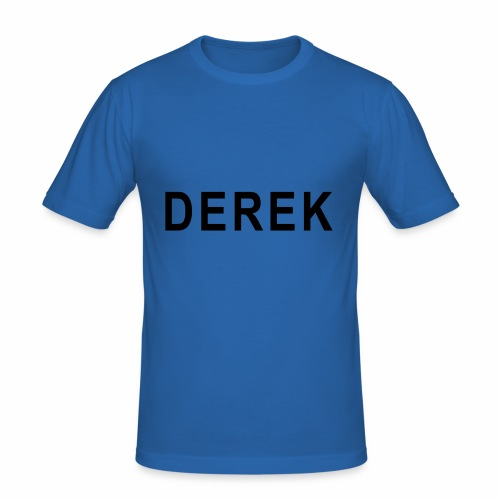 LARGE Derek - Men's Slim Fit T-Shirt