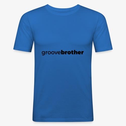 groovebrother - Männer Slim Fit T-Shirt