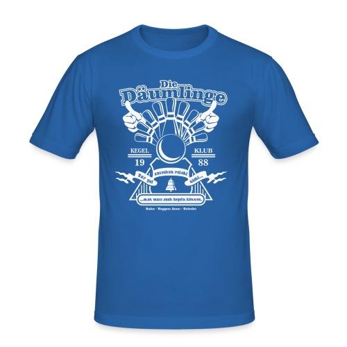 T Shirt Daeumlinge 02 - Männer Slim Fit T-Shirt
