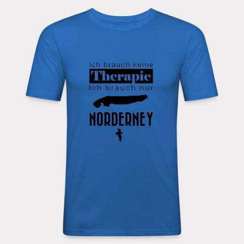 Norderney - Ich brauche keine Therapie - Männer Slim Fit T-Shirt