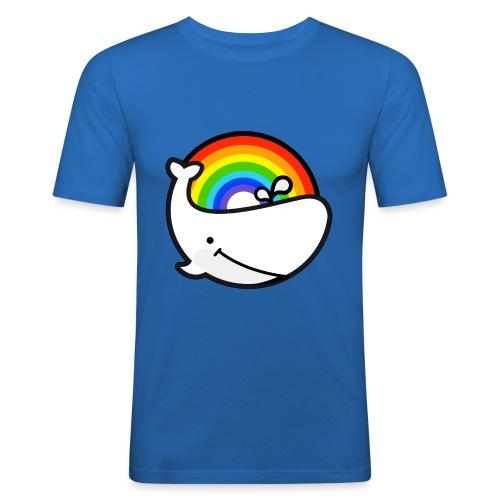 whale - Slim Fit T-shirt herr