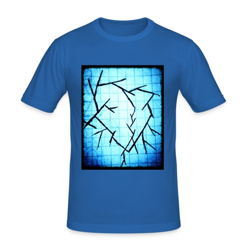 Frozen broken heart - Herre Slim Fit T-Shirt