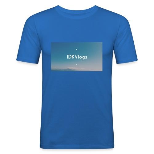 IDKVlogs Mug - Men's Slim Fit T-Shirt