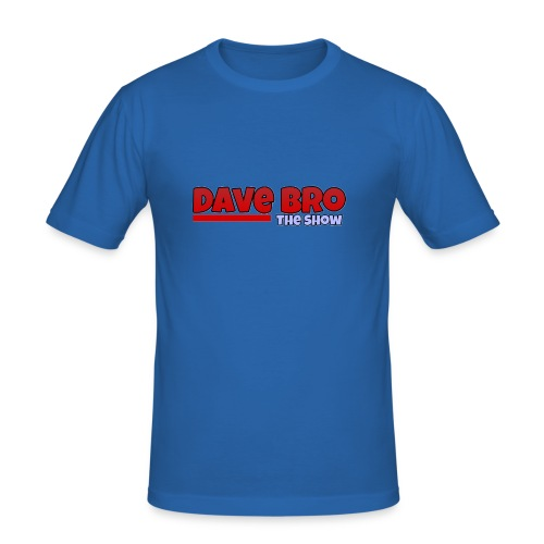 Dave Bro Logo - Männer Slim Fit T-Shirt