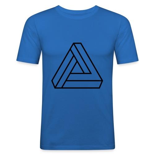 triangulos 1 - Camiseta ajustada hombre