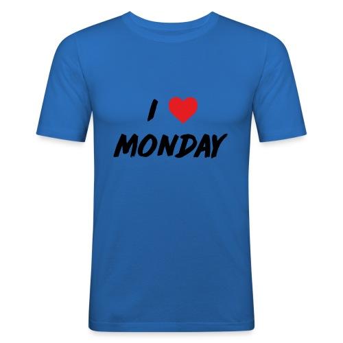 Monday - Maglietta aderente da uomo