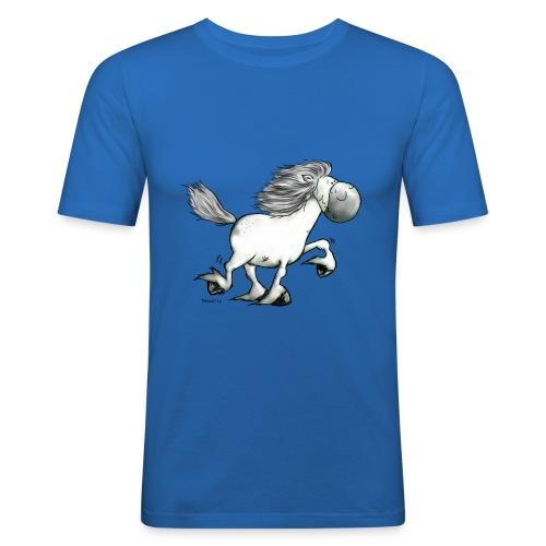white_horse - Men's Slim Fit T-Shirt