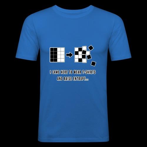 Entropy Shirt - Men's Slim Fit T-Shirt