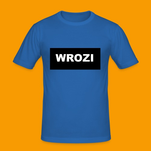 WROZI hat - Men's Slim Fit T-Shirt