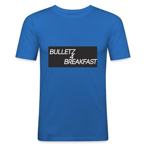 bulletz4breakfast_t-shirt - Men's Slim Fit T-Shirt