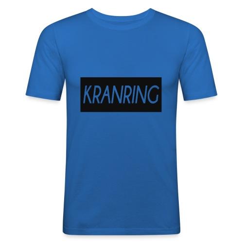 Kranring_Shirt_Logo - Slim Fit T-shirt herr