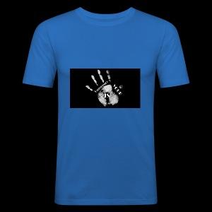Calisthenics mano - Maglietta aderente da uomo