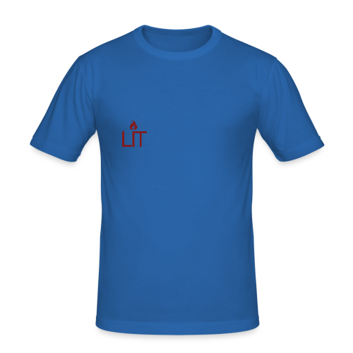 LIT™ | T-Shirt - Men's Slim Fit T-Shirt