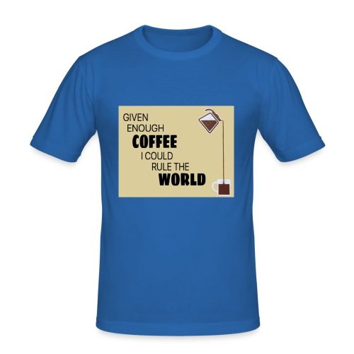 Coffee Champion - Men's Slim Fit T-Shirt