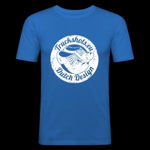 "Stamp ""dutch design"" with clogs - Men's Slim Fit T-Shirt"