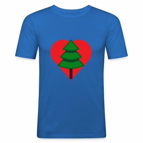 Luv trees! - Men's Slim Fit T-Shirt