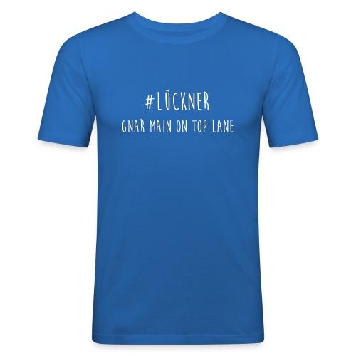 Das ist der Offiziele Merch von #LücknerArmy - Männer Slim Fit T-Shirt