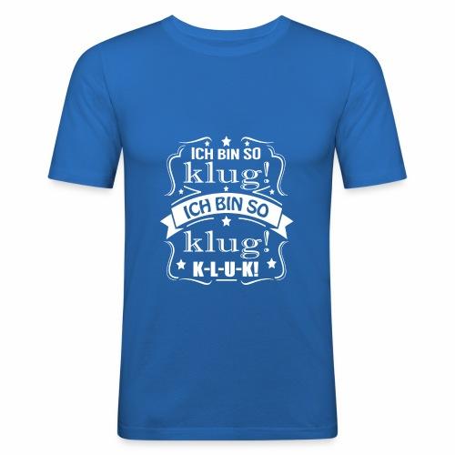 Ich bin kluk - Männer Slim Fit T-Shirt