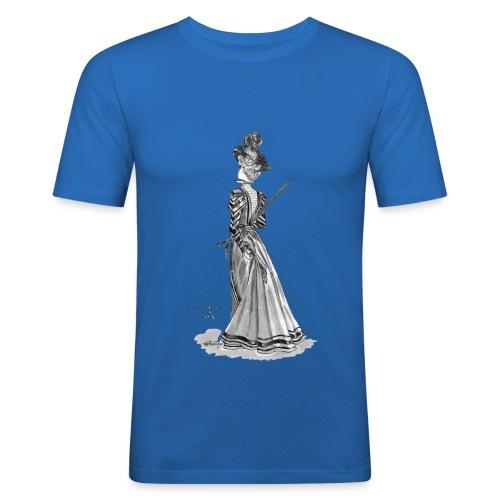 Victorian Fashion - Men's Slim Fit T-Shirt