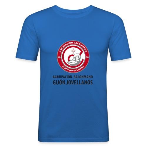 Escudo vertical básico - Camiseta ajustada hombre
