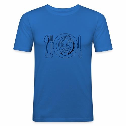 Es ist angerichtet. - Männer Slim Fit T-Shirt
