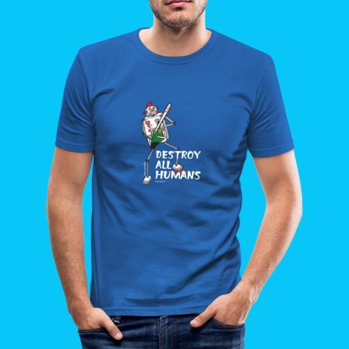 Dat Robot: Destroy Series Killer Clown Dark - slim fit T-shirt