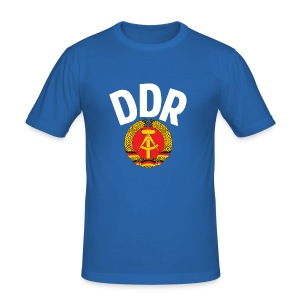 DDR - German Democratic Republic - Est Germany - Men's Slim Fit T-Shirt