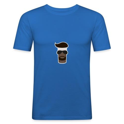 Sahne_Pudding Logo - Männer Slim Fit T-Shirt