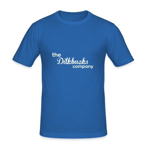 The Dilkbucks Company - T-Skjorte - Slim Fit T-skjorte for menn