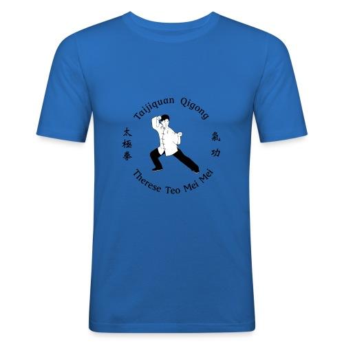 Teo Mei Mei Black Logo - Slim Fit T-shirt herr
