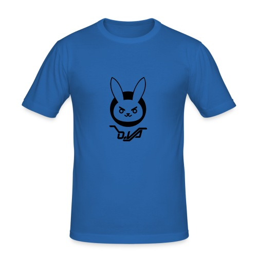 Logo_Dva - Men's Slim Fit T-Shirt