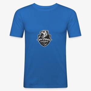 Ryzing Gaming e.V. weiss - Männer Slim Fit T-Shirt