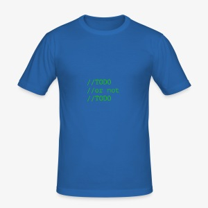 TODO or not TODO - Obcisła koszulka męska