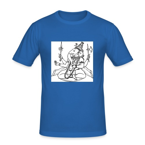 ganesha - Männer Slim Fit T-Shirt