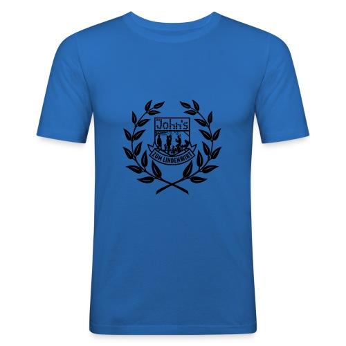kranz schwarz2 - Männer Slim Fit T-Shirt