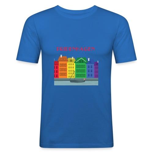 PRIDENHAGEN NYHAVN T-SHIRT - Herre Slim Fit T-Shirt