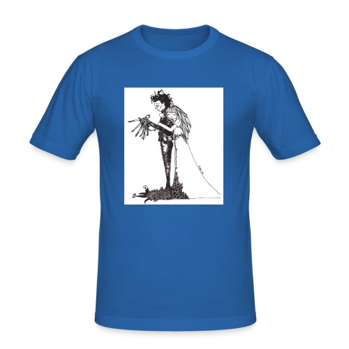 EdwardScissorhands.jpg - Men's Slim Fit T-Shirt
