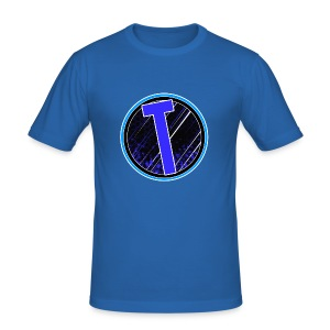 Truxer Old Logo Transparent - Men's Slim Fit T-Shirt