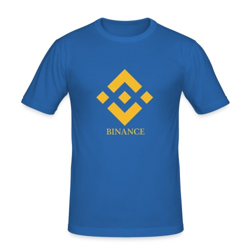 Binance Fans - Männer Slim Fit T-Shirt