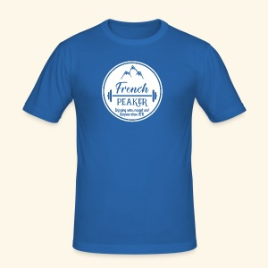 Logo french peakers - Tee shirt près du corps Homme