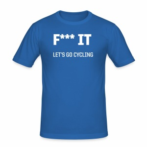 Let s go cycling - Männer Slim Fit T-Shirt