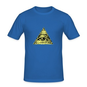 Illuminati - Slim Fit T-shirt herr